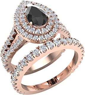 Best black rose gold ring Reviews