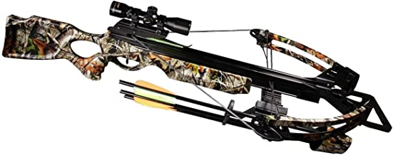 Jandao Chace-Sun II 4X 32mm Scope Crossbow Package with Cocking Aid and Arrow, 165-Pound/375 FPS