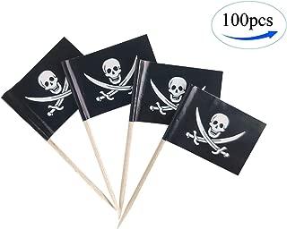 Best pirate flag cocktail sticks Reviews