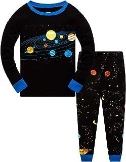 Jungen Schlafanzug kurz Gr 128 Morris Eskimo Pyjama Kinder Nachtwäsche 116 u