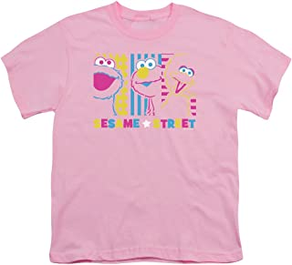 Sesame Street See Em Why Unisex Youth T Shirt for Boys and Girls