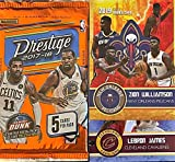 2017-18 Panini PRESTIGE Factory Sealed Basketball Card PACK - Look for Rookie Cards of Donovan Mitchell, Jayson Tatum, De'Aaron Fox, Lonzo Ball, Kyle Kuzma (... rookie card picture