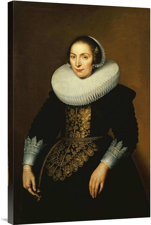 Global Galerie Budget gcs-265500–76,2–360,7 cm Bartholomäus Sarburgh Portrait Of A A A Lady Galerie Wrap Giclée-Kunstdruck auf Leinwand Art Wand B01K1Q2KFA | Niedriger Preis  88f55a