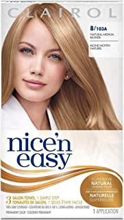 Nice'n Easy Permanent Color, Natural Medium Blonde [8/103A] 1 ea