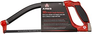 ARES 70098-3-D Right Angle Hacksaw - Cut with 90-Degree, 180-Degree, and 270-Degree Positions - Always Cut Right