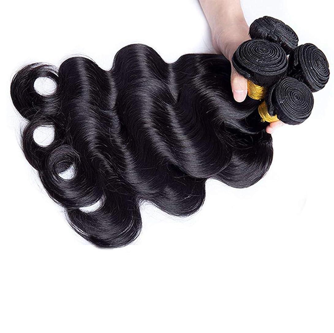 免除するフローティング毎回女性130%密度ブラジルのバージンルースディープウェーブ1バンドル人間の髪未処理のRemyミンクルースカーリーヘアエクステンション織り