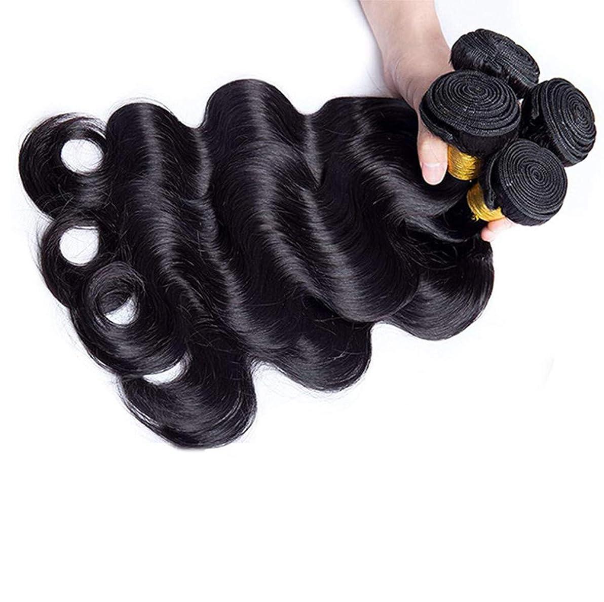 些細帰る海賊女性130%密度ブラジルのバージンルースディープウェーブ1バンドル人間の髪未処理のRemyミンクルースカーリーヘアエクステンション織り