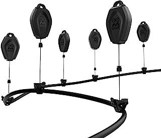 AMVR VR-kabelbeheer, 6-pack intrekbaar dakkatrolsysteem voor Oculus Quest / Quest 2 / Rift / Rift S / Valve Index / HTC Vi...