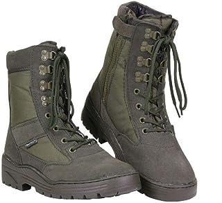 Chaussures 1 Zip Sniper Boots Vert - Fostex