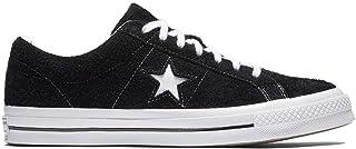 Converse One Star Ox Black/White/White, Men's Shoes, Black, 8.5 UK (42) 42 EU 158369C
