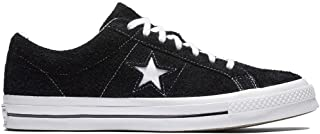 one star converse all black