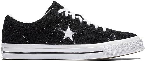 Converse Unisex-Erwachsene One Star Ox 158369c Turnschuhe, schwarz