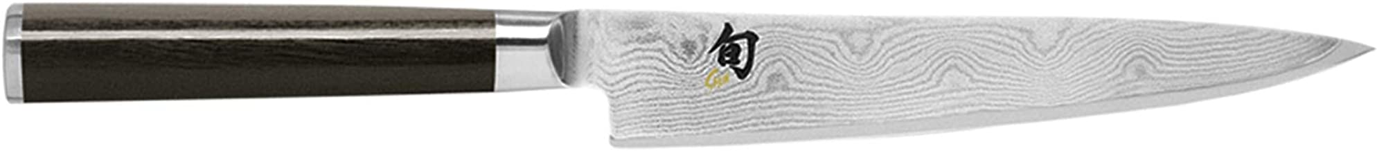Kai Shun Classic Utility Kitchen Knife 15.2cm, Stainless Steel, DM0701