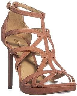 Sandra Suede Caged Platform Dress Sandals