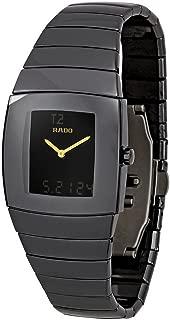 Rado Watches Rado Sintra Super Jubile Black Tone Ceramic Digital and Analogue Multi-Function Men's Watch