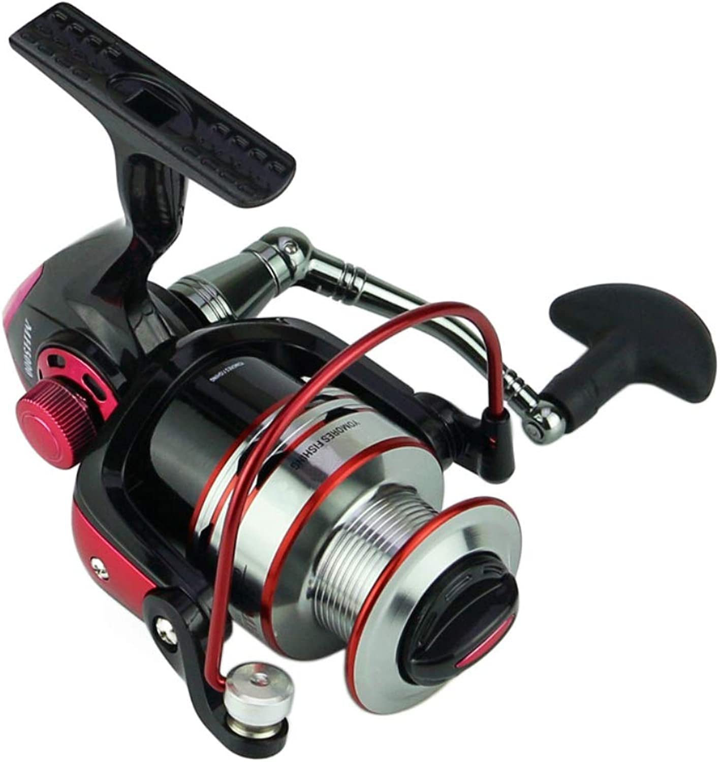 Fishing Spinning Reel 10+1BB Saltwater HighProfile Fishing Reels Pesca Surfing Long Casting Wheel for Saltwater or Freshwater,4000model