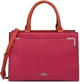 Nine West Satchels Bag for Women - Hot Pink