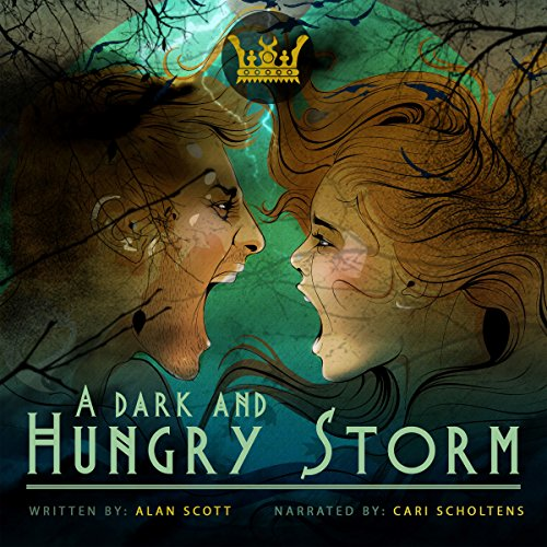 A Dark and Hungry Storm: (The Werewolf Reborn): A Dark Fantasy Novel audiobook cover art
