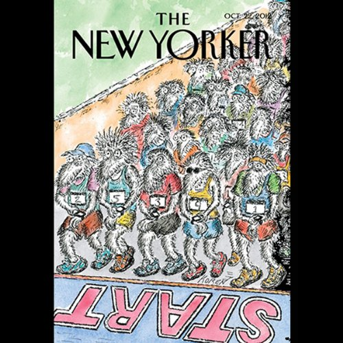 The New Yorker, October 22th 2012 (Evan Osnos, Michael Specter, David Sedaris) cover art
