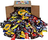 Chocolate Variety Pack - Fun Size Candy - All Your Favorite Chocolate Bars Including M&M, Snickers, Twix and More In 8x8x8 Bulk Box, 7.3 Lbs