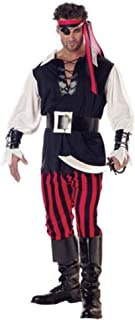 California Costumes Men's Adult Cutthroat Pirate Costume