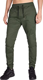 Men's Casual Jogger Pants Slim Fit Stretch Sweatpants