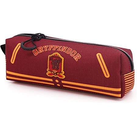 Harry Potter Varsity-Astuccio Portatutto Quadrato HS, Multicolour