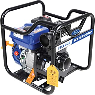Ford 3 Inches 208cc Petrol / Gasoline Water Pump - Economic, Centrifugal Self Priming Pump, Blue