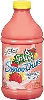 V8 Splash Smoothies Strawberry Banana, 46 oz. Bottle