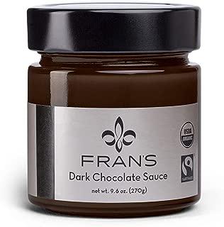 Fran's Fran8217;s Chocolates Dark Chocolate Sauce, 9 oz.