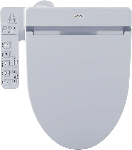 2021 Toto C100 Elongated sale Bidet Seat SW2034T20#01 outlet online sale Cotton White with Remote Control outlet online sale