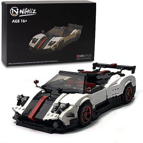 discount Nifeliz Mini Sports Car Zoda MOC Building Blocks and Construction Toy, Adult Collectible Model Cars Set to 2021 Build, 1:14 Scale Race wholesale Car Model (960 Pcs) online