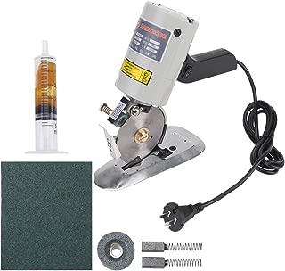 Electric Cloth Cutter, Octagonal Knife Cloth Cutting Machine Round Knife Rotary Blade Fabric Cutter Scissors for Multi Cloth Leather Wool Cutting 220V