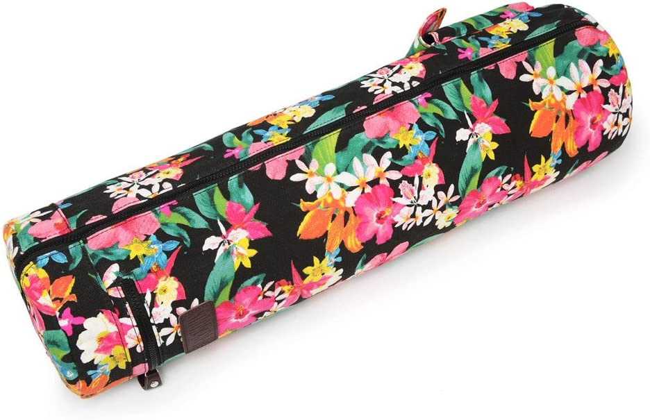 Fremous Yoga Mat Bag and Carriers for Women and Men Portable Multifunction Storage Pockets Canvas Yoga Bags