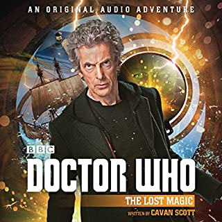 Doctor Who: The Lost Magic audiobook cover art