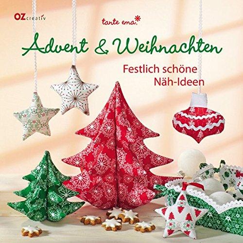 Advent & Weihnachten: Festlich schöne Näh-Ideen