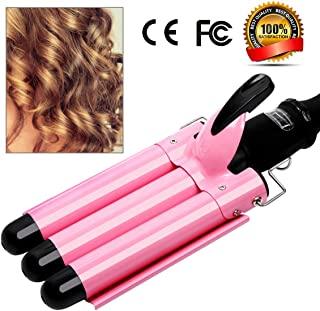 3 Barrel Curling Iron Hot Tools Curling Iron Fast Heating Ceramic Hair Waver Curler 25mm Hair