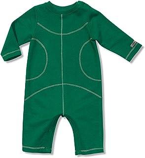Macacão Quadra Manga Longa Verde Green - Bebê Menino