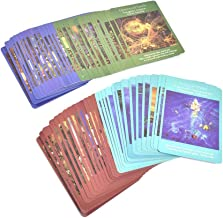 IMCROWN 78 Sheets Angel Tarot Cards, Tarot Card Set Full English Version Card Game Gifts Board Game Card for You and Your Friends Party Game
