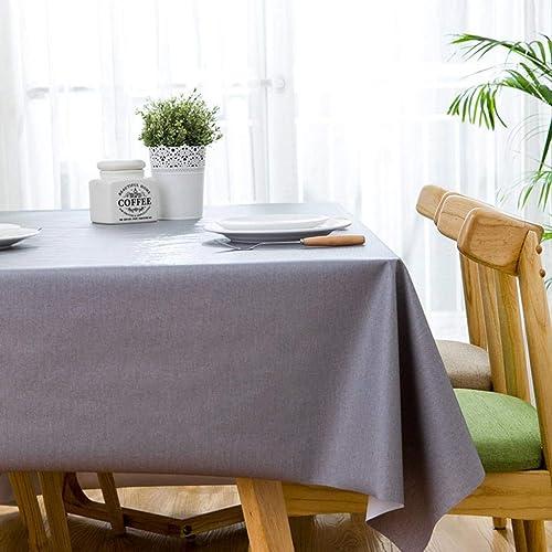 edición limitada WENYAO Rectangular Coffee tabtablecloth Nordic simpsolid Color tabcloth Waterproof Anti-scalding Anti-scalding Anti-scalding Oil-Proof Plastic Tablecloth  tienda de venta
