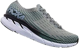 HOKA ONE ONE Men's Clifton 5 Knit Silver Pine/Chinois Green