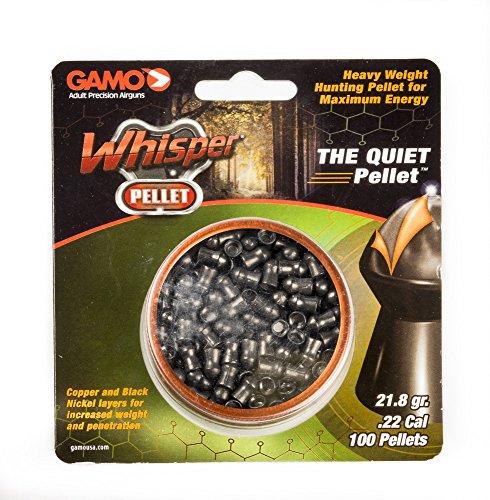Gamo WHISPER PELLET QTY100 BLISTER 632272354 Pellets .22