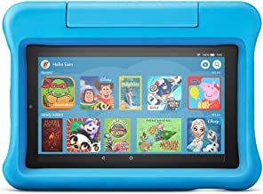 "All-new Fire 7 Kids Edition Tablet | 7"" Display, 16 GB, Blue Kid-Proof Case"