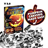 Pumpkin Punchers - Pumpkin Carving Kit For Kids - Pumpkin Carving Tools - Pumpkin Carving Stencils -...