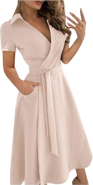 Smooto Womens Pure Color V-neck Sleeveless Lace Slim Body Wrap Hips Long Dress