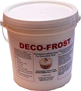 Deco-Frost 1 Gallon Artificial Non-Edible Fake Icing