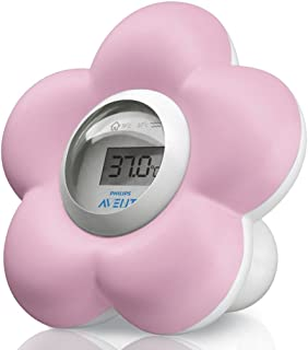 Philips Avent Digital Bath and Room Thermometer, Pink, SCH550/21