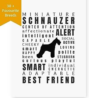 Best miniature schnauzer art Reviews