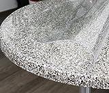 Glasklar Folie 2 mm transparente Tischdecke RUND, Schutzfolie Tischschutz, Größe wählbar (Rund 110 cm) - 3