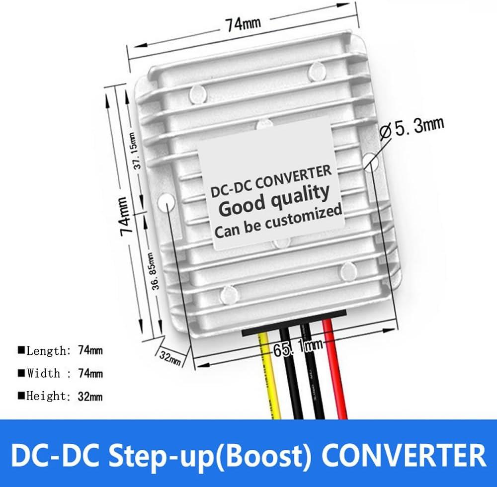 DC60V to DC12V10A, 60V step-down 12V, 60V buck 12V, 60V change to 12V, 60V turn to 12V, 60V to 12V DC/DC buck module, 20V~75V to 12V, Car power adapter, Buck converter,waterproof DC-DC